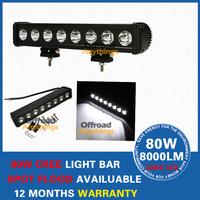 17.5 INCH 80W CREE LED Offroads Lamp Bar Combo Beam Work Light Boat 12V 24V Free Shipping