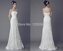 Charming Bridal Sexy A Line Sweetheart Off The Shoulder Criss Cross Floor Length Silk Taffeta White Wedding Dresses Size 2 4 6(China (Mainland))
