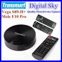 [MeLE F10 Pro Air Mouse] Tronsmart Vega S89-H Android TV Box Amlogic S802-H Quad Core 2GHz 2.4G/5G Dual Band WiFi 2G/16G 1080P