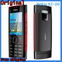 X2 Original Nokia X2-00 Bluetooth FM JAVA 5MP Unlocked Mobile Phone Free Shipping Duad Band GSM 850/900/1800/1900 MHz