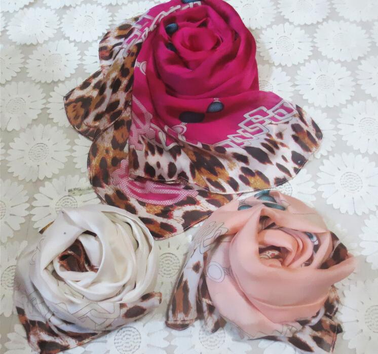 C016 spain desigual New Style Leopard High-end European Ladies Silk Scarves(China (Mainland))