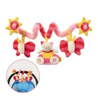 2014 New Infant Toys Elc Multifunctional Babies Bed Around Car Hanging Newborn Baby Rattles Toy Child Rattle Toys sv16 SV009425