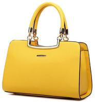 Fashion Women Handbag Color Portable Women Bags Solid Women Messenger Bags Trendy Tote PU Leather Handbag Hot Sale Bolsas