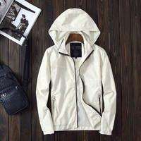 Man autumn&winter 2014 Jacket Men Winter Coat Jackets hooded Coat Parka Outdoor Wear High Quality M-XXL three color