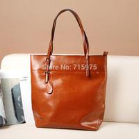 Brief Casual shoulder bags fashion brand women handbag genuine leather bag for women bolsas femininas 2014 free shipping