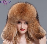 New Fashion Design Winter Warmth Fox Fur Hat Hight Qualtiy Whole Fox fur Cap Lei feng's hat