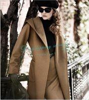 Double-sided Cashmere Women Coat Woolen Winter Coat Big Yards Overcoat  Free Shipping