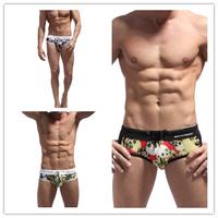 New 2014 Bikini Swimwear Mens Swim Briefs Swimming Trunks Shorts Men Swimsuit Low Rise Sports 4 Colors Wholesale S M L XL