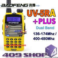 hotsale 5W Yellow 136-174Mhz / 400-480Mhz baofeng UV5RA-PLUS ham radio
