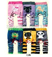 2014 new 24 style !3cs/lot BUSHA Toddler Boys Girls Baby infant carton PP Pant,Legging Tights Leg Warmer Sockskids PP Pants