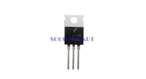 free shipping 50Pcs General Purpose TIP31 TO-220 NPN Bipolar Transistors With 3 Pins(China (Mainland))
