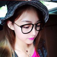 Metal Glasses frame Man Resistance eyeglasses Women Fashion 2014 Flat glasses 1862