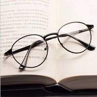 Metal Glasses eye glasses metal fashion glasses radioresistance eyeglasses men goggles glasses vintage fashion 1828