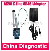 Free shipping AK90 K-LINE OD46J EWS3 Adapter ak90 ews3 OD46J connector adapter ews3 k-line OD46J adapter AK90 adapter