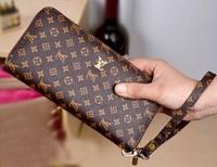 wallets 2014 Free shipping hot sale brand women long wallets,leather purse,handbags,1pce wholesale, quality guarantee F05