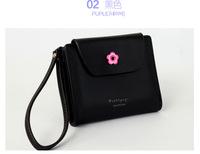 2015 New Woman Short Wallet Fashion Candy Color MIni Wallets Women Bag Card Holder Sexy Women's Purse W10
