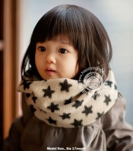 an version of lovely warm winter fashion star baby small Bib of male and female children scarves wholesale manufacturers(China (Mainland))