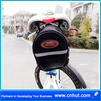 BICYCLE WATERPROOF SADDLE BAG WEDGE PHONE REAR SEAT POUCH