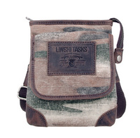 new arrival hiphop camo canvas waist bags ,men casual waist packs  small shoulder bags L141AI06