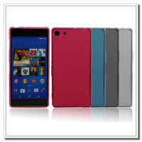 Exquisite Skin Flexible TPU Covers Case Design for Sony Xperia Z3 Mini Compact Suzie