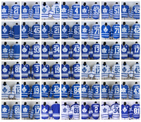 10pcs/lot DHL Fast Free Shipping Cheap Wholesale Discount Maple Leafs Ice Hockey Jerseys Stitched Embroidery Mixed Order