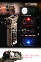 EMERSON Sidewinder Flashlight Survival lamp Life saving lamp LED flashlight IR TAN em8447 -Free shipping