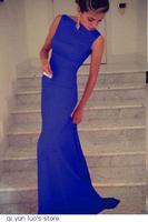 Black Elegant Maxi Dress  LC6743