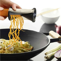 1PCS New Shred Spiral Slicer Vegetable Cutter  comfortable to use for vegetable cutting Kitchen good helper