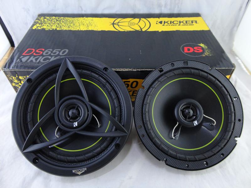American K brand 6.5 -inch ultra-thin coaxial car audio speaker KICKER DS650 car audio(China (Mainland))