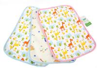 2pcs/lot 70*120cm bed sheet cartoon baby changing mat mattress cover nursing pad free shipping