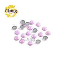 1000pcs Pack 6mm Hot Fix Nailhead Aluminum DIY Accessories For Bag Shoe Phone Case Garment #GT104A-6Z(089)
