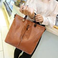 Hot 2014 Fashion designers Women handbags Women's leather handbag Vintage shoulder bags women messenger bags free shipping