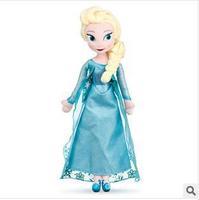 Frozen princess doll stuffing plush toys frozen plush anna elsa boneco frozen 50cm Dolls pelucia frozen