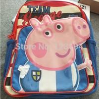 NEW KID SCHOOL BAG peppa pig backpack for girls george school bags Dinosaur 1 pc FREE SHIPPING