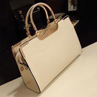 Classic Shoulder Bags Elegant Office Bag Ladies High Quality Handbags Fashion Vintage Hand Bags Women White Black Blue Tote Bag