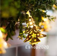 LED 20PCS Christmas Decoration Lamp Wedding Garden Decoration Light Strip Christmas Indoor Outdoor Decoration Strip Light