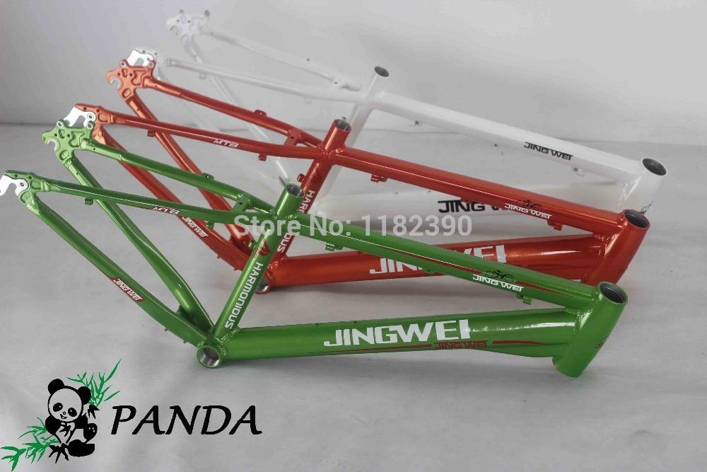 2015 new style panda alloy Mountain Bike Frame 24ER*13ER MTB bike Frame Free Shipping 24ER*33CM MTB frame(China (Mainland))