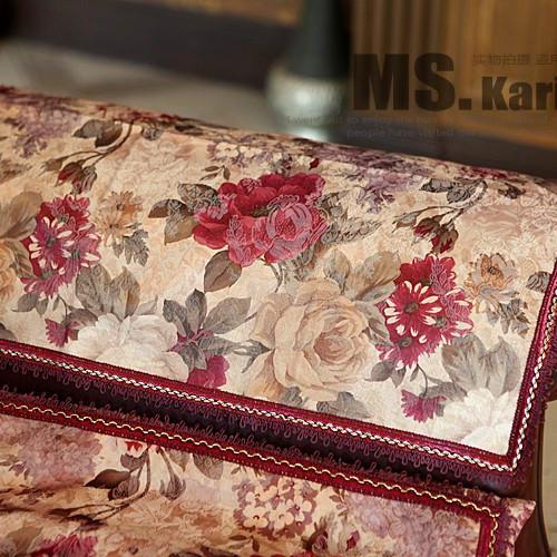Genuine high-end European fabric | Scandinavian | Atmospheric graceful MS.K Diana | thin section armrest armrest pad towel(China (Mainland))