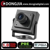 QA-IP3145HM-POE onvif PSIA P2P support audio 1 Megapixel 720P POE CCTV ip camera mini