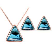2014 Fashion Hot Sale Austria Crystal   Necklace/Earring  Jewelry Set  For Women ,TZ-1341