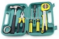 Wholesale 7pcs Portable Emergency Repair Tool Screwdriver Kit Set Box for Car Safety Diagnostic Tool Practical
