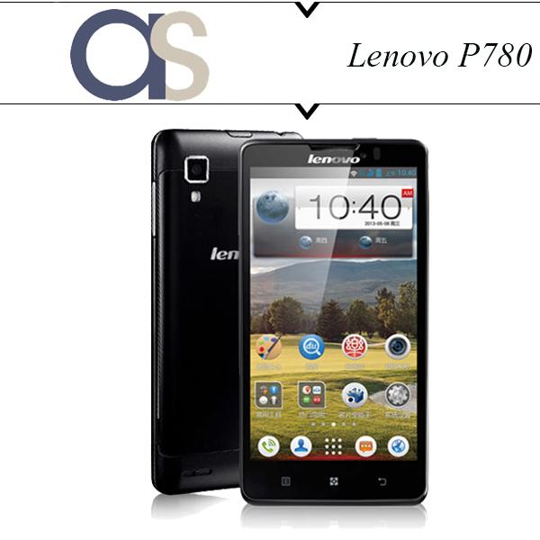 Оригинальный Lenovo P780 телефон MTK6589 четырехъядерных процессоров 1.2 ГГц 5.0 '' 1280 * 720 P 8.0Mp аккумулятор 4000 мАч сильный аккумулятор GPS сотовые телефоны