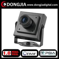 Free shipping QA-IP3145HM onvif PSIA P2P support audio 1 Megapixel 720P CCTV Mini IP Camera