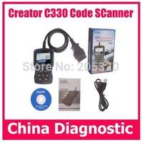 OBDII Creator C330 code reader for HONDA ACURA C330 scanner C330 For Honda Auto scan tool Creator C330 System Scanner
