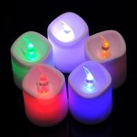 New Christmas Decoration Suppliers 20pcs Christmas Plastic Multicolor LED Desk Decor Lamp Light 3.5x4.2cm B81640