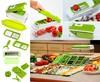 Vegetable Fruit cutter slicer Nicer Dicer Plus Container food Chopper Peeler salad maker ABS Material kitchen accessories