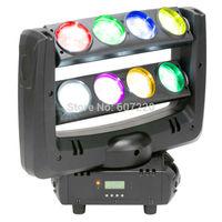 4pcs/lot sBeam Led Moving Head Light Double Head Dj Effect light RGBW quad color LED Spider Light