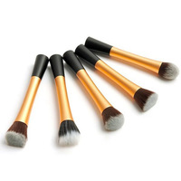 5 pcs/set professional Beauty make up brush set stippling brush Blush Facial Care Facial Brush Cosmetic Foundation Brushes