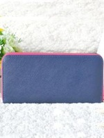 Free shipping High end and practical genuine leather wallet , women leather purses, zip around wallets for ladies