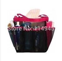 8 Pocket Mesh Bath Shower Caddy  Bag Dorm Waterproof  Storage Organizer  3 Colors Availble Free shipping